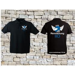 110 Poloshirt Männer schwarz