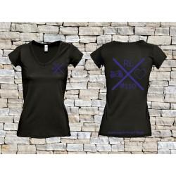 110 T-Shirt Frauen schwarz
